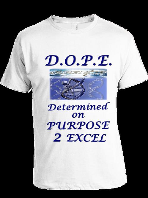 D.O.P.E.  Blue Lettering (Signature Series)