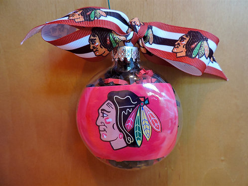 Blackhawks ornament