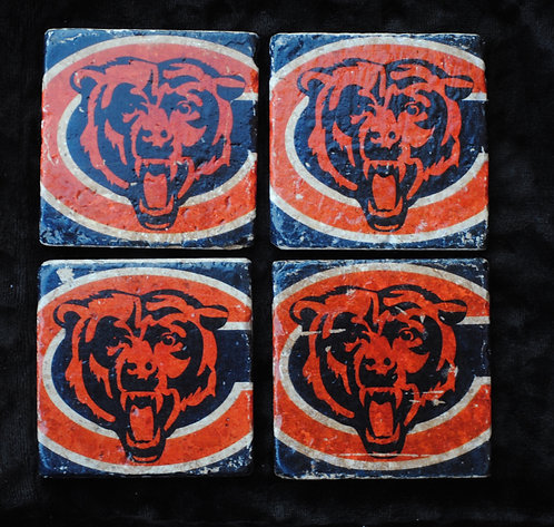 The Chicago Bears Coasters