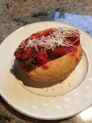 Friday Night Vegan Meatball Sandwiches