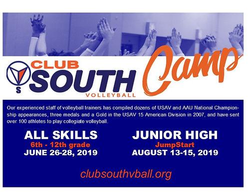 June Skills Camp