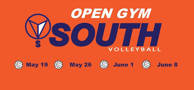 June 1 Club South Volleyball Open Gym