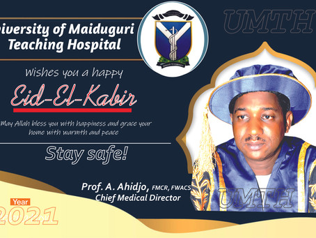 Sallah Greeting from the Chief Medical Director