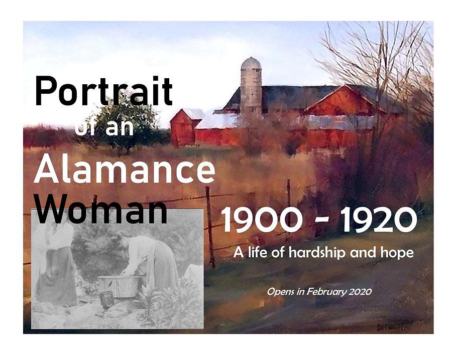 Portrait of an Alamance Woman CC & FB.jp