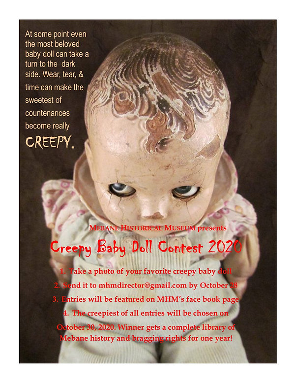 Final Creepy Baby Doll initial Announcem