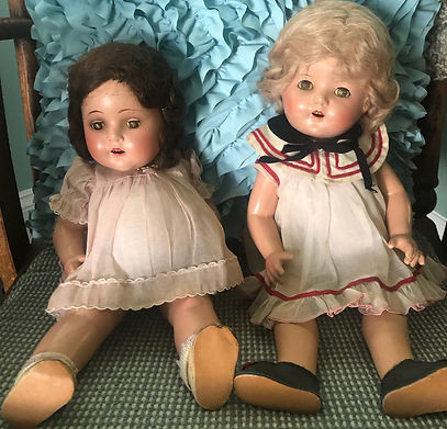Margaret Warren and her sisters doll 8.2