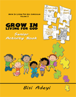 Grow In Living For God Curriculum - Senior Activity Book