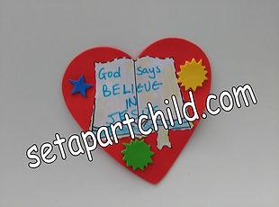 Believe heart craft