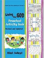 Living For God Curriculum - Preschool Activity Book