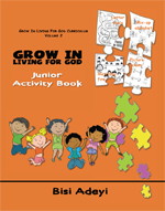 Grow In Living For God Curriculum - Junior Activity Book