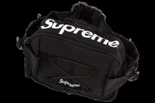 SUPREME WAIST BAG SS17 (BLACK)