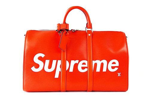Louis Vuitton X Supreme Bandouliere Duffle Bag