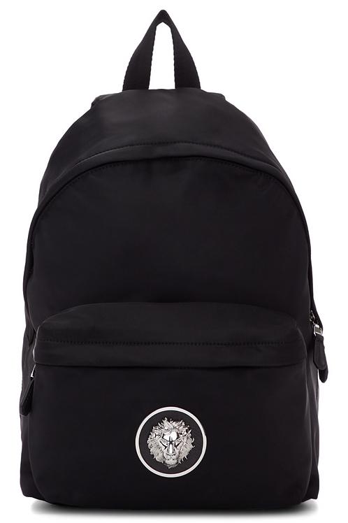 Versus Black Nickel Backpack