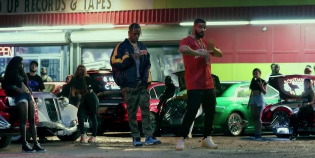 Travis Scott & Drake Team Up In Crazy New Visuals For