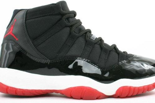 Jordans 11 Black and Red