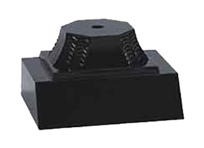 Black Pedestal 1 Post
