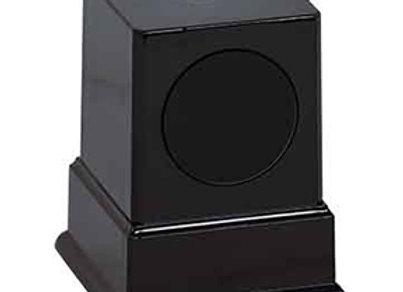 Pedestal 1 Post w Round Engraving