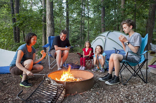 bigstock-family-of-five-people-camping-6