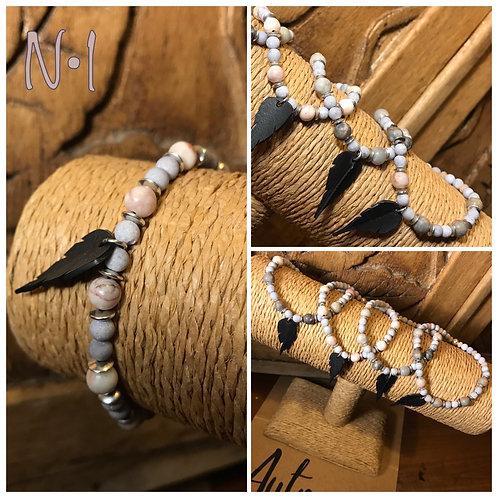WO: Bracelet pierres naturelles et semi-précieuses  20/11