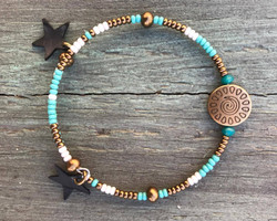 El nido turquoise étoiles