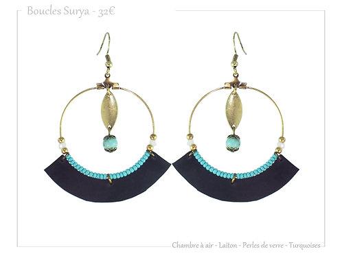 Boucles Surya Turquoise