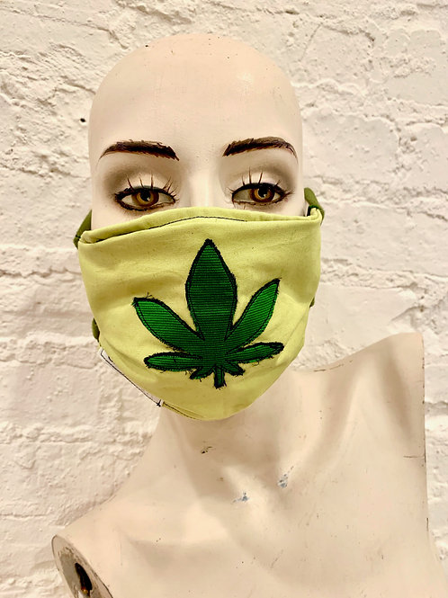The Mary Jane Mask: Light Green