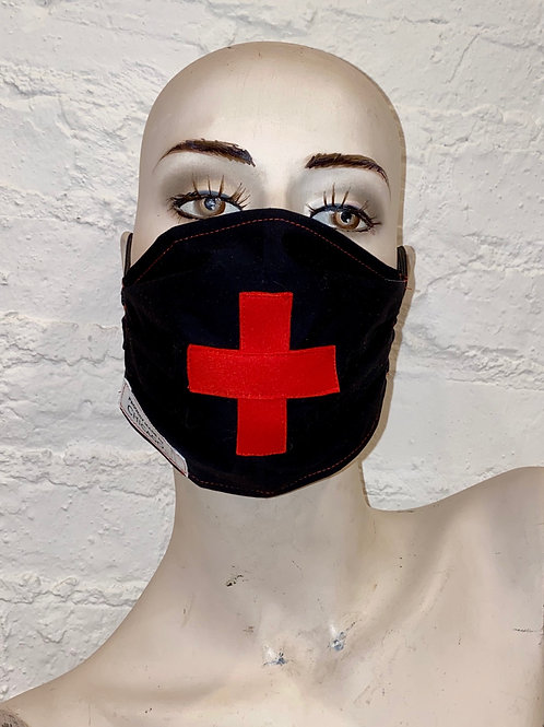 The RedCross Mask on Black