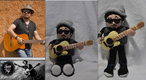 Retrato Crochet