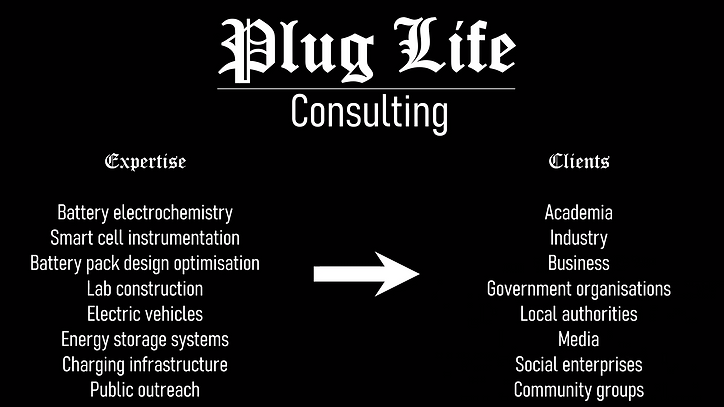 Plug Life Consulting Ltd expertise and c