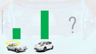 Episode 5: old petrol car vs new electric car - which is greener?