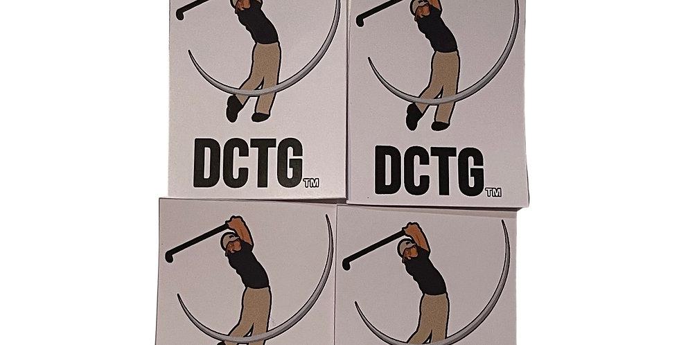 Golf Sticker 4 Pack