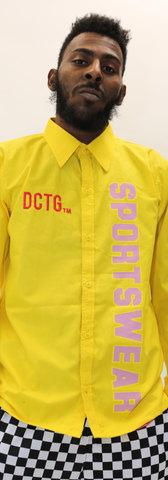 Varsity Button Down Heartthrob Club Checkered Pant