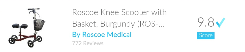 Roscoe Adult Knee Scooter