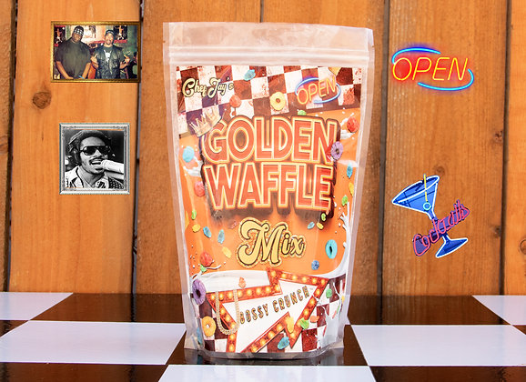Golden Waffle Mix BOSSY CRUNCH