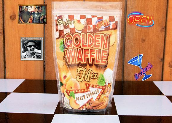 Golden Waffle Mix PEACH COBBLER