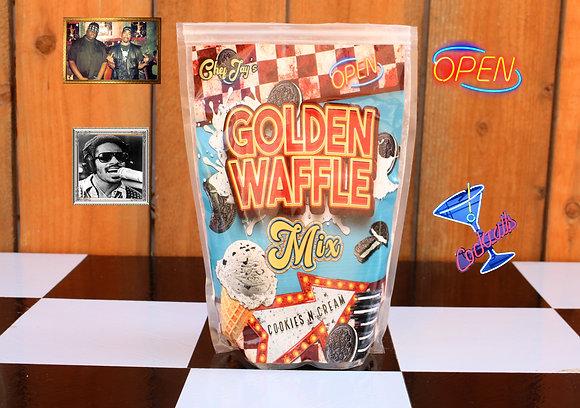 Golden Waffle Mix COOKIES N CREAM