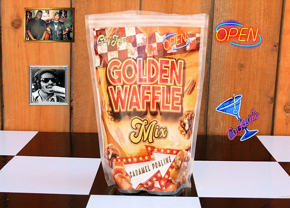 Golden Waffle Mix CARAMEL PRALINE