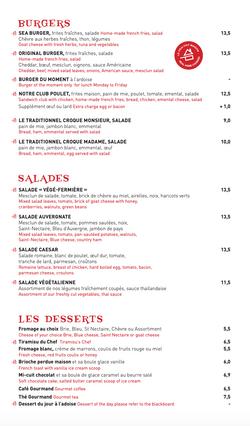 Carte Cafe Pierre 2