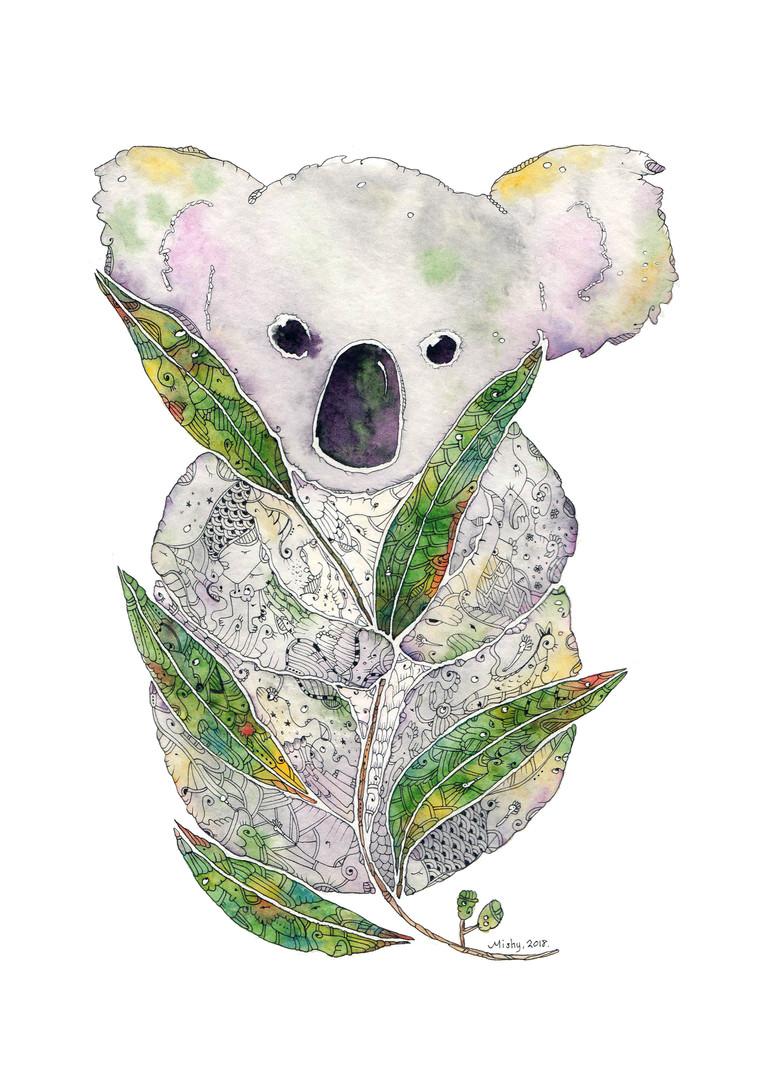 Dawn the Koala