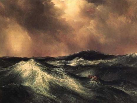 Les vagues emportent le passé, recentrage.