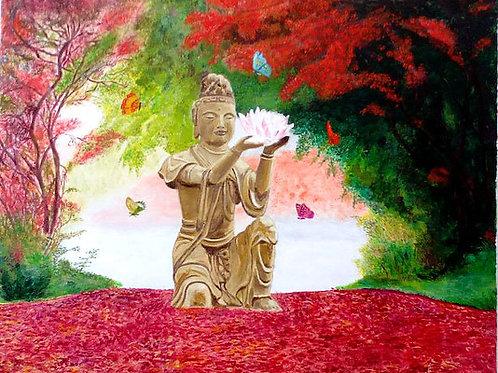 Bouddha d'automne