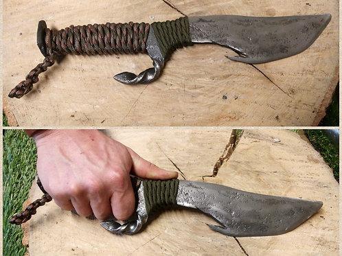 Couteau forgé non tranchant