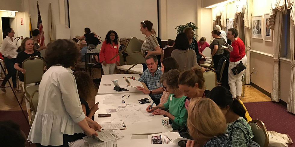 Wellesley Dems & Neighbors United - Indivisible Activist Action Night