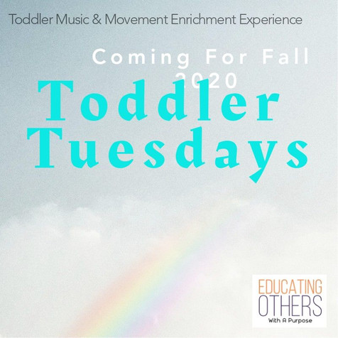Tuesdays With Toddlers: A Toddler Tuesdays Update