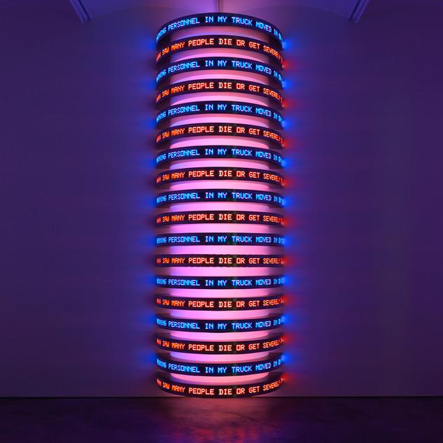 Inspiré par les LEDs de Jenny Holzer