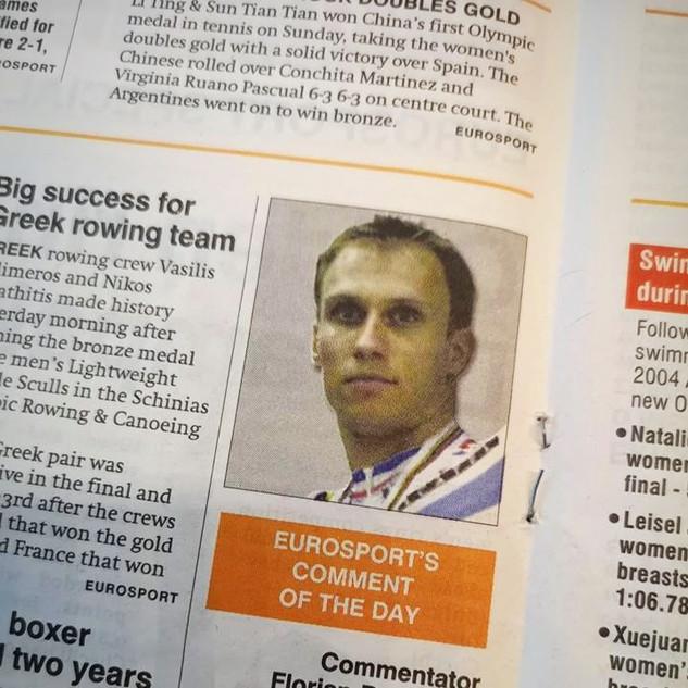 Rubrique quotidienne mettant en avant un commentateur Europsort, sa carrière, son rôle et ses avis sur les Jeux