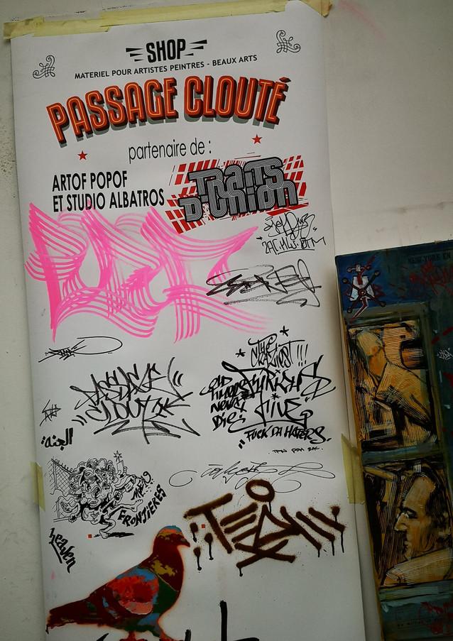 Sponsor Passage Clouté