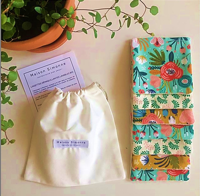 Organic wipes by Maison Simonne