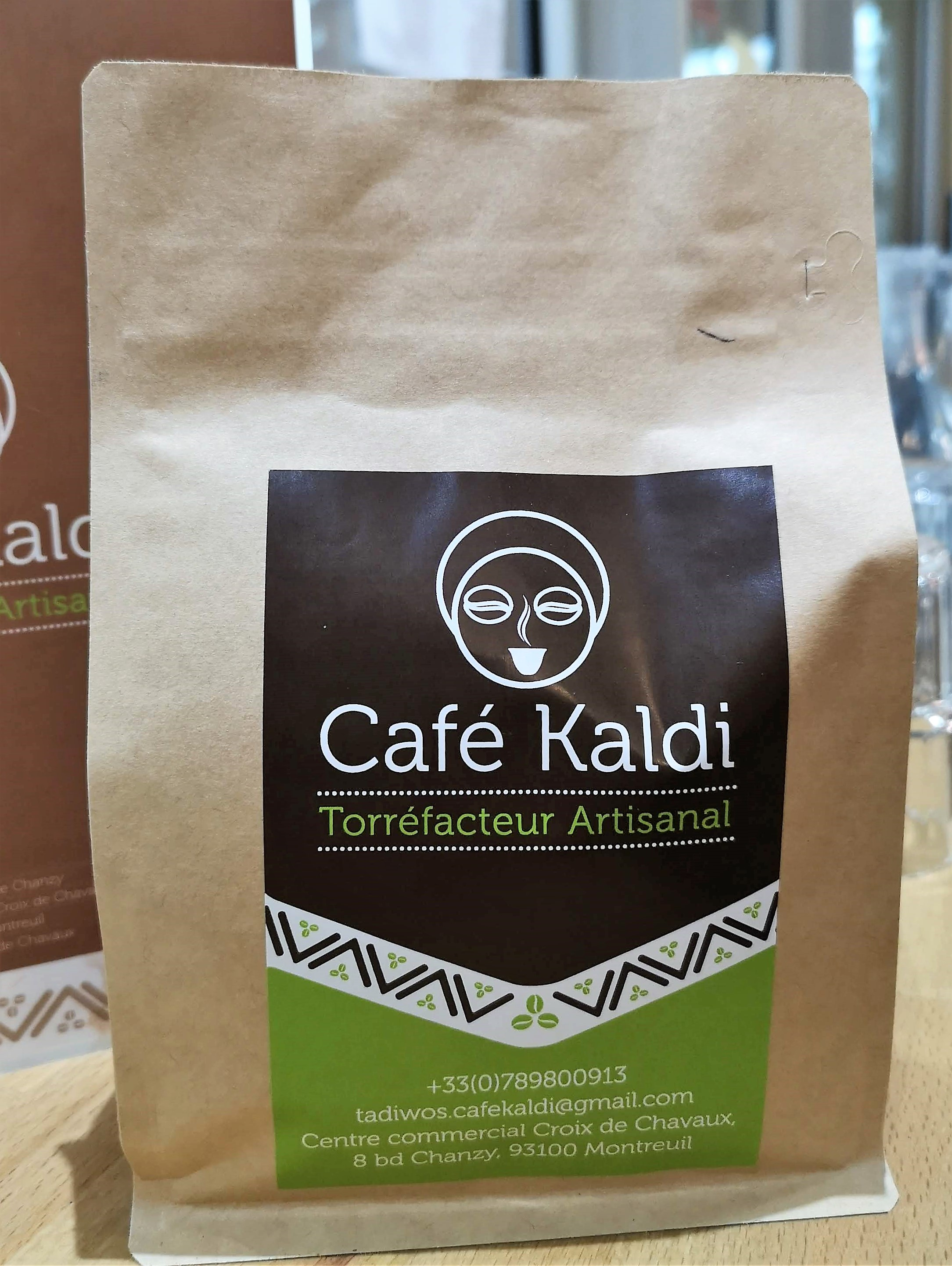 Roasted coffee by Café Kaldi