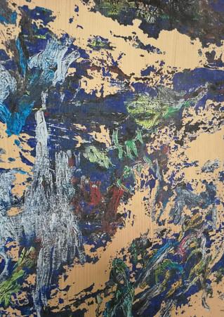 Peinture sur bois / Painting on wood